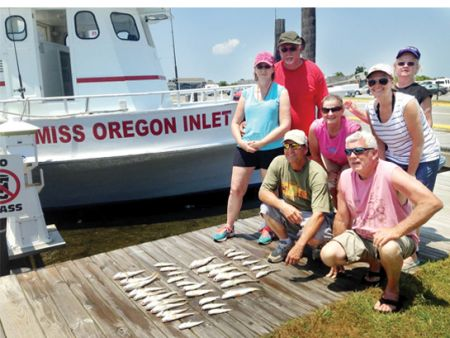 Miss Oregon Inlet Head Boat Fishing, Group Fishing / Sightseeing Trip