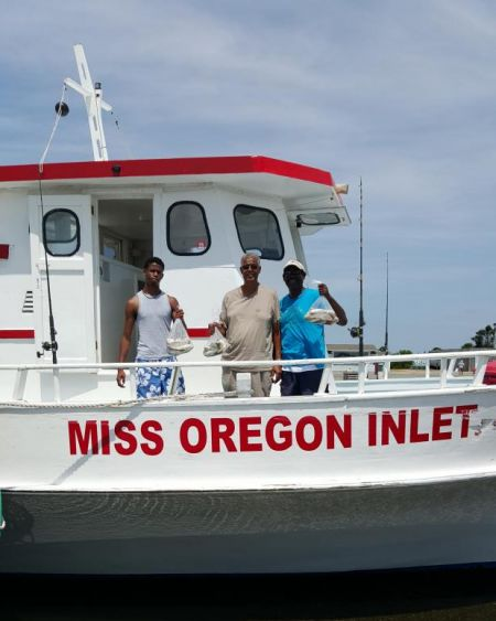 Miss Oregon Inlet Head Boat Fishing, Afternoon Fishing Trip
