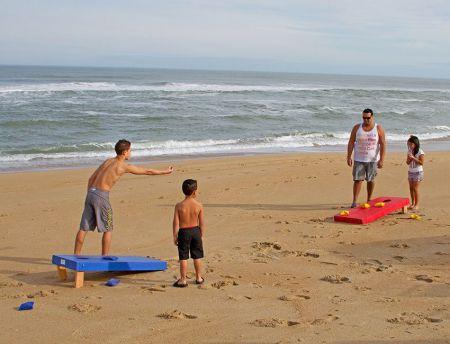 Moneysworth Beach Equipment and Linen Rentals, Cornhole Game
