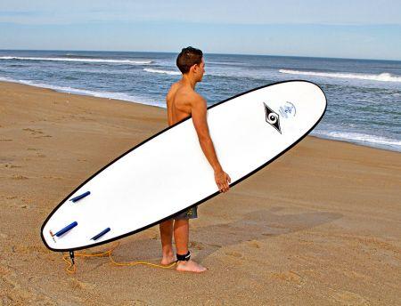 Moneysworth Beach Equipment and Linen Rentals, Rent a surfboard for the beach!
