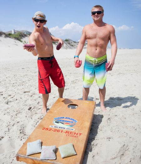 Ocean Atlantic Rentals, Game of Cornhole