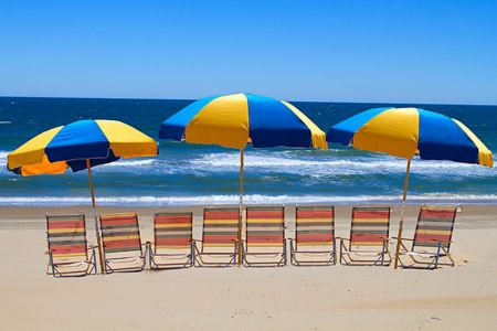 Moneysworth Beach Equipment and Linen Rentals, Seating for All Beach Package