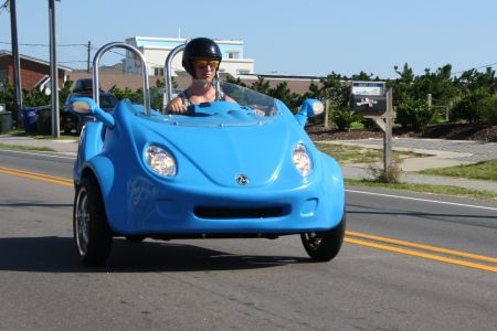 Enjoy the Ride Outer Banks Rentals, Cruise Cool in a Scoot Coupe