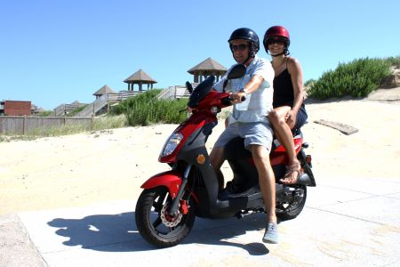 Enjoy the Ride Outer Banks Rentals, Travel Light — Rent a Scooter