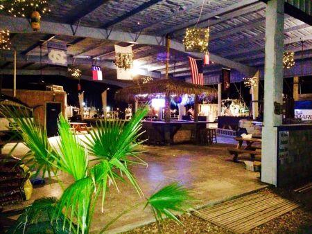 OBX Marina, Lounge Around the Tiki Bar