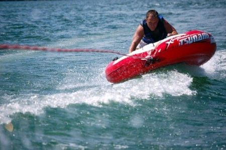 Causeway Watersports, Nags Head Outer Banks, Tubing Rides