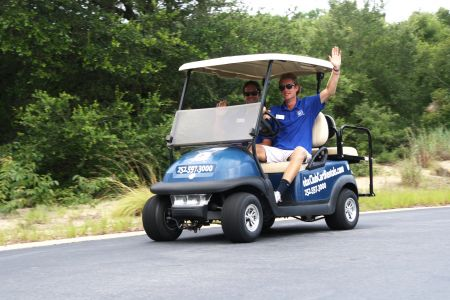 Enjoy the Ride Outer Banks Rentals, Rent a Golf Cart! Get There Carefree