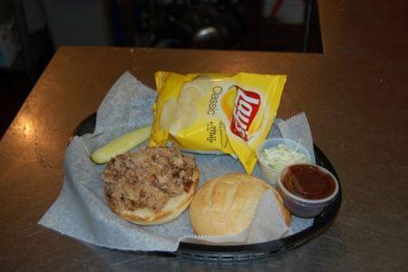 Jason's Restaurant, RTO's BBQ Sandwich