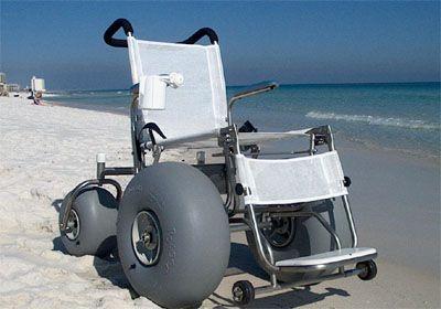 Ocean Atlantic Rentals, Deluxe Beach Wheelchair