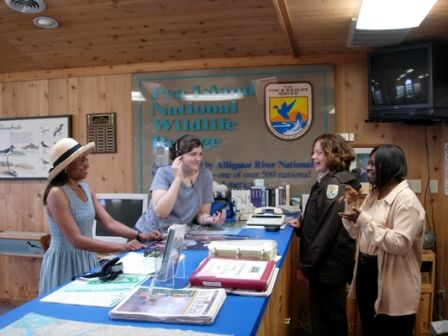 Alligator River National Wildlife Refuge, Visit our Visitors' Center
