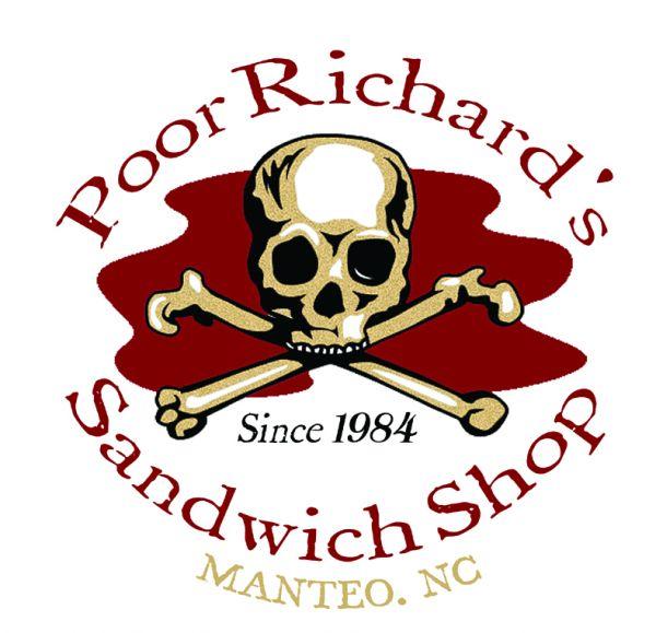 Pulled bbq chicken sandwich poor richard 39 s sandwich shop for Poor richard s fishing report
