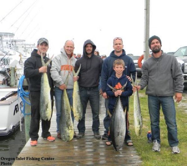 Daily Fishing Report | August 31, 2016 | TW's Bait ... |Oregon Inlet Rough Water