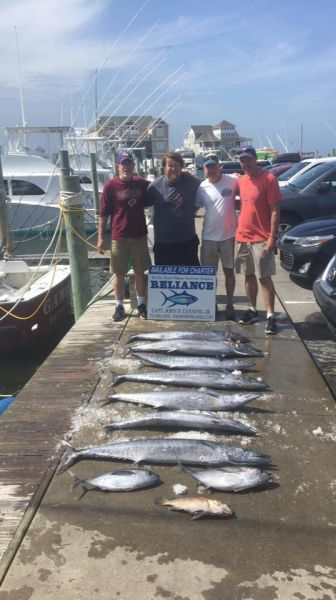 Reliance offshore fishing august 7 2017 reliance for Hatteras fishing reports