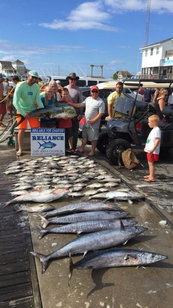 Reliance offshore fishing august 10 2017 reliance for Hatteras fishing charters