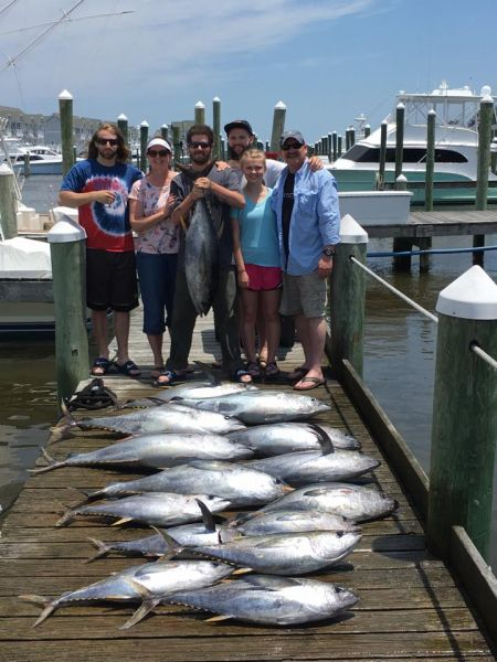Crazy good tuna fishing june 19 2017 a salt weapon for Oregon tuna fishing report