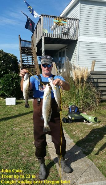 Daily Fishing Report | January 27, 2017 | TW's Bait ... |Oregon Inlet Rough Water