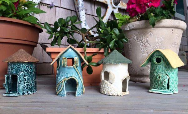 Succulent Planter & Fairy House Pottery Class | Kinnakeet