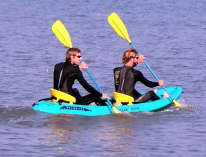Ocean To Sound Kayak Ocean Atlantic Rentals Outer Banks Things To Do